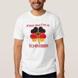 Personalised German Kiss Me I'm Schreiber Tee Shirts
