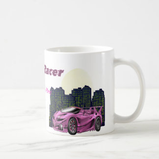 Personalised Girl Racer - Mug