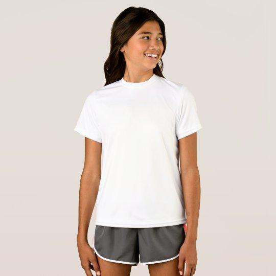Girls' Sport-Tek Competitor T-Shirt, White