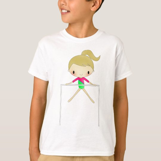Personalised Girls Gymnastic apparel & accessories T-Shirt