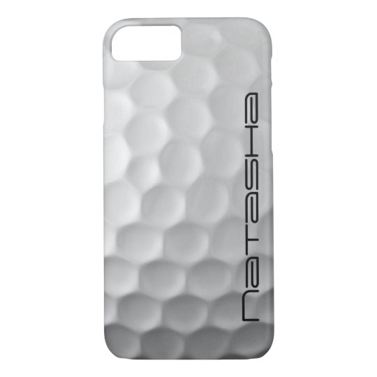 Personalised Golf Ball Dimples Texture Pattern iPhone 8/7