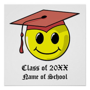 Personalised Graduation Poster