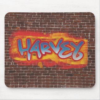 Personalised Graffiti Mouse mat