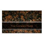 Personalised Granite Business Card