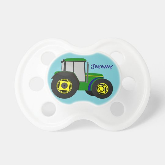 Personalised Green Farm Tractor Dummy
