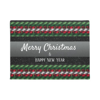 Personalised Greeting Holiday Season Welcome Mat