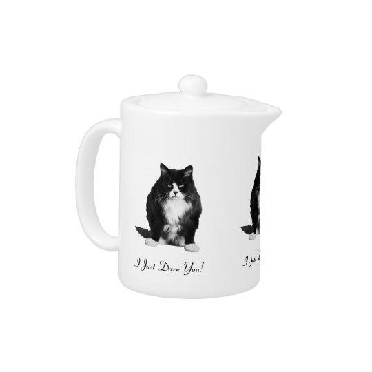 Personalised Grumpy Cat Teapot