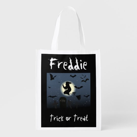 Personalised Halloween Treat or Trick bag