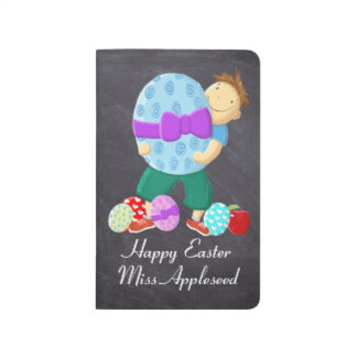 Personalised Happy Easter Teacher Journals