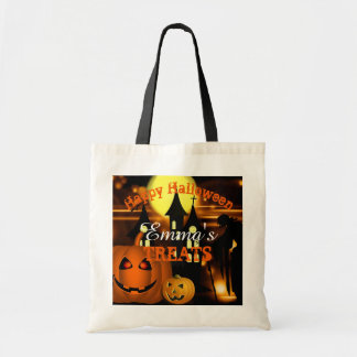 Personalised Happy Halloween Bag