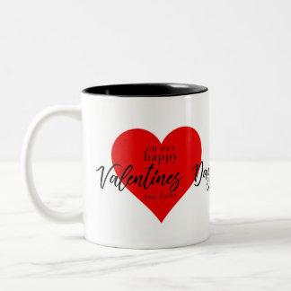 """Personalised Happy Valentines Day """"you babe"""" Mug"""