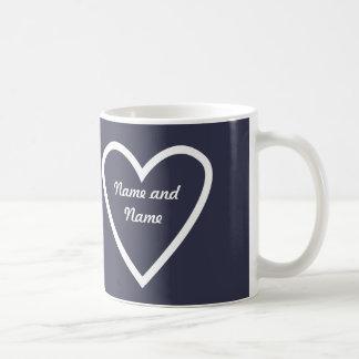 Personalised Heart Mug Gift