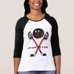 Personalised Hockey Mum Cartoon T-Shirt