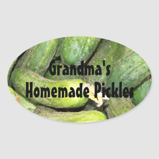 Personalised Homemade Pickle Jar Label