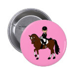 Personalised Horse and Rider Dressage Accessory