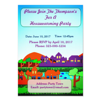 Personalised  Housewarming Party Invitation