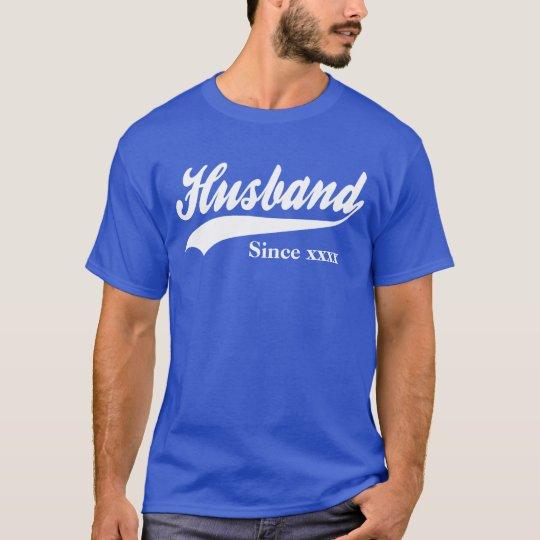 Personalised Husband Since T-Shirt