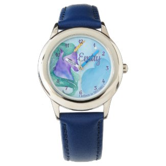 Personalised I Believe in Unicorns eWatch Watch