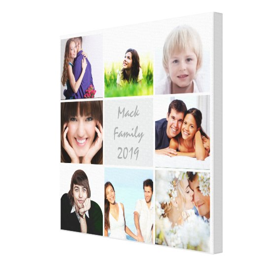 Personalised Instagram Photo Collage Canvas Print