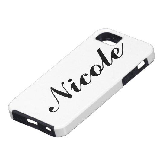 Personalised iPhone 5 Case