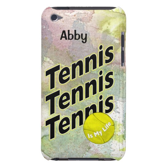 Personalised iPod Case for Tennis