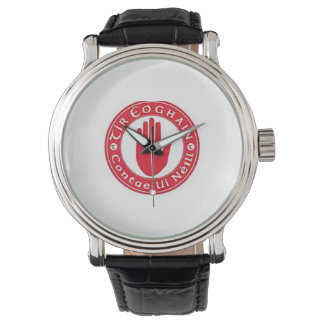Personalised Irish County Men's Watches Co.Tyrone.