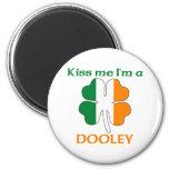Personalised Irish Kiss Me I'm Dooley Refrigerator Magnets
