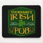 Personalised Irish Pub Sign Mouse Pad