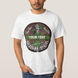 Personalised Irish pub sign T-Shirt
