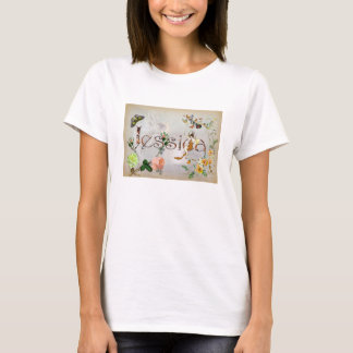 Personalised `Jessica' design T-Shirt
