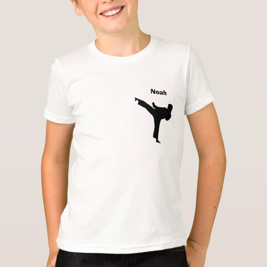 Personalised Karate Shirt