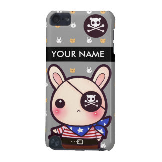 Personalised kawaii pirate bunny iPod touch (5th generation) cases