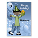 Personalised Kid's Birthday with Age for a Boy