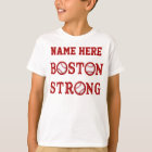 Personalised Kids Boston Strong Shirts and Family