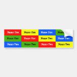 Personalised Kids Name Labels; Waterproof Stickers