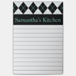 Personalised Kitchen Post It Notes Sticky Note