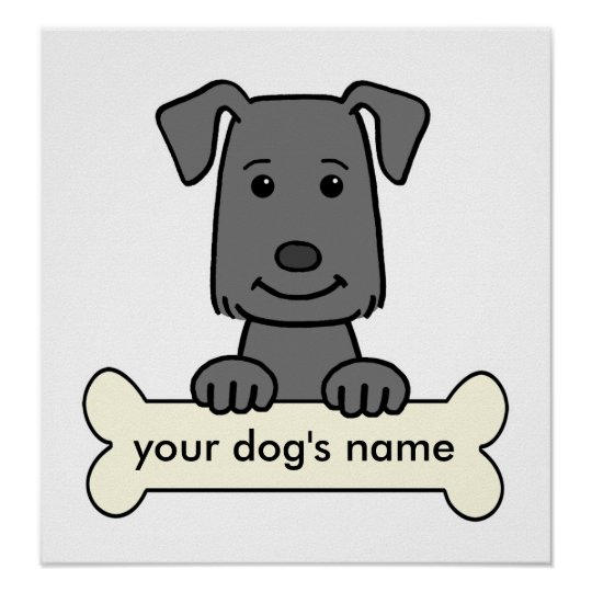 Personalised Labrador Retriever Poster