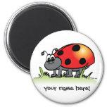 Personalised Ladybug Magnet