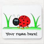 Personalised Ladybug Mousepad