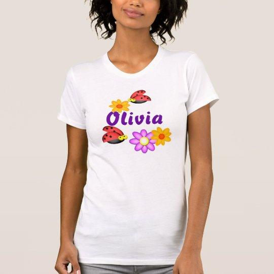 Personalised Ladybugs, Olivia T-Shirt