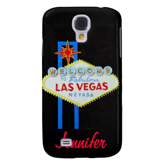 Personalised Las Vegas Sign Galaxy S4 Case