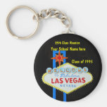 Personalised Las Vegas Sign Party Favour Key Chain