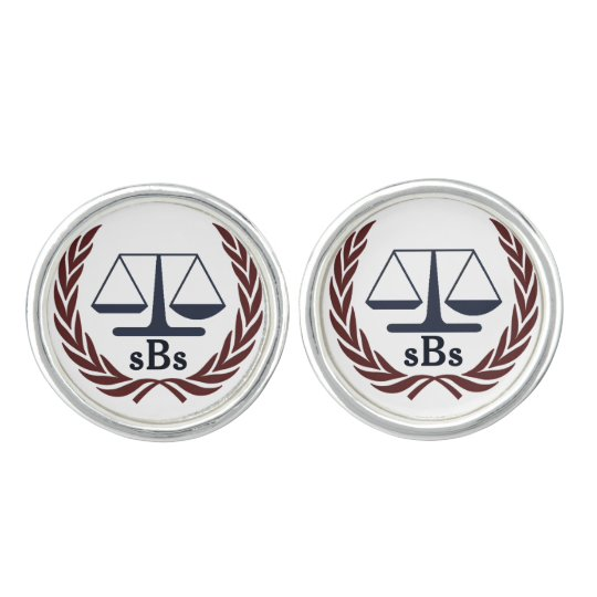 Personalised Lawyer Gifts Cufflinks