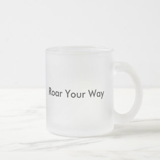 Personalised Lion Art Design Mug Cup