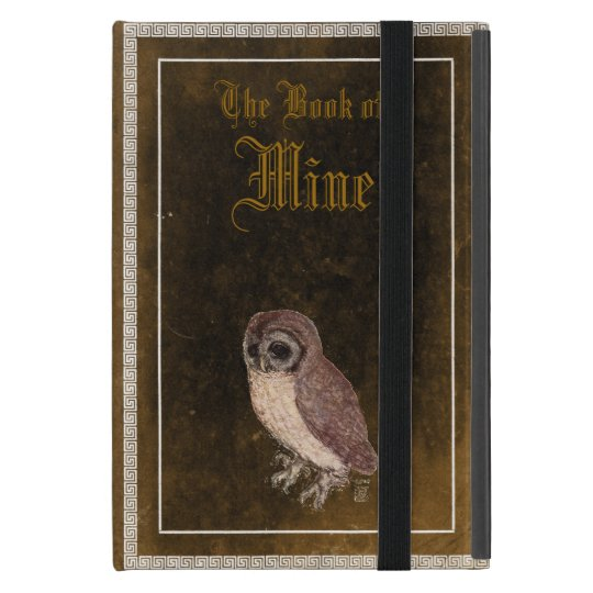 Personalised Little Owl iPad mini in Faux Leather