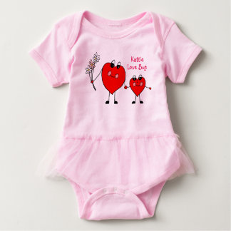 Personalised Love Bug Tutu Dress