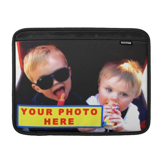 Personalised MacBook Air Case with YOUR PHOTO MacBook Sleeve