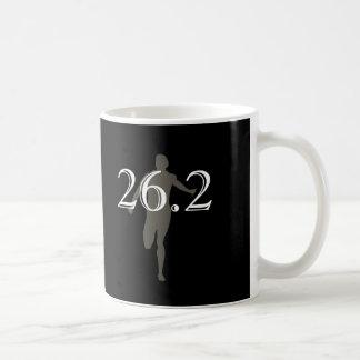 Personalised Marathon Runner 26.2 Keepsake Black Basic White Mug