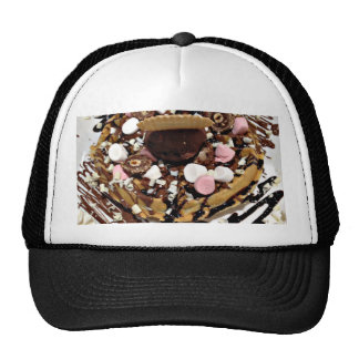 Personalised Marshmallow and Chocolate Cake Cap