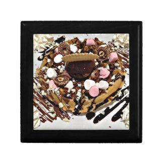 Personalised Marshmallow and Chocolate Cake Gift Box